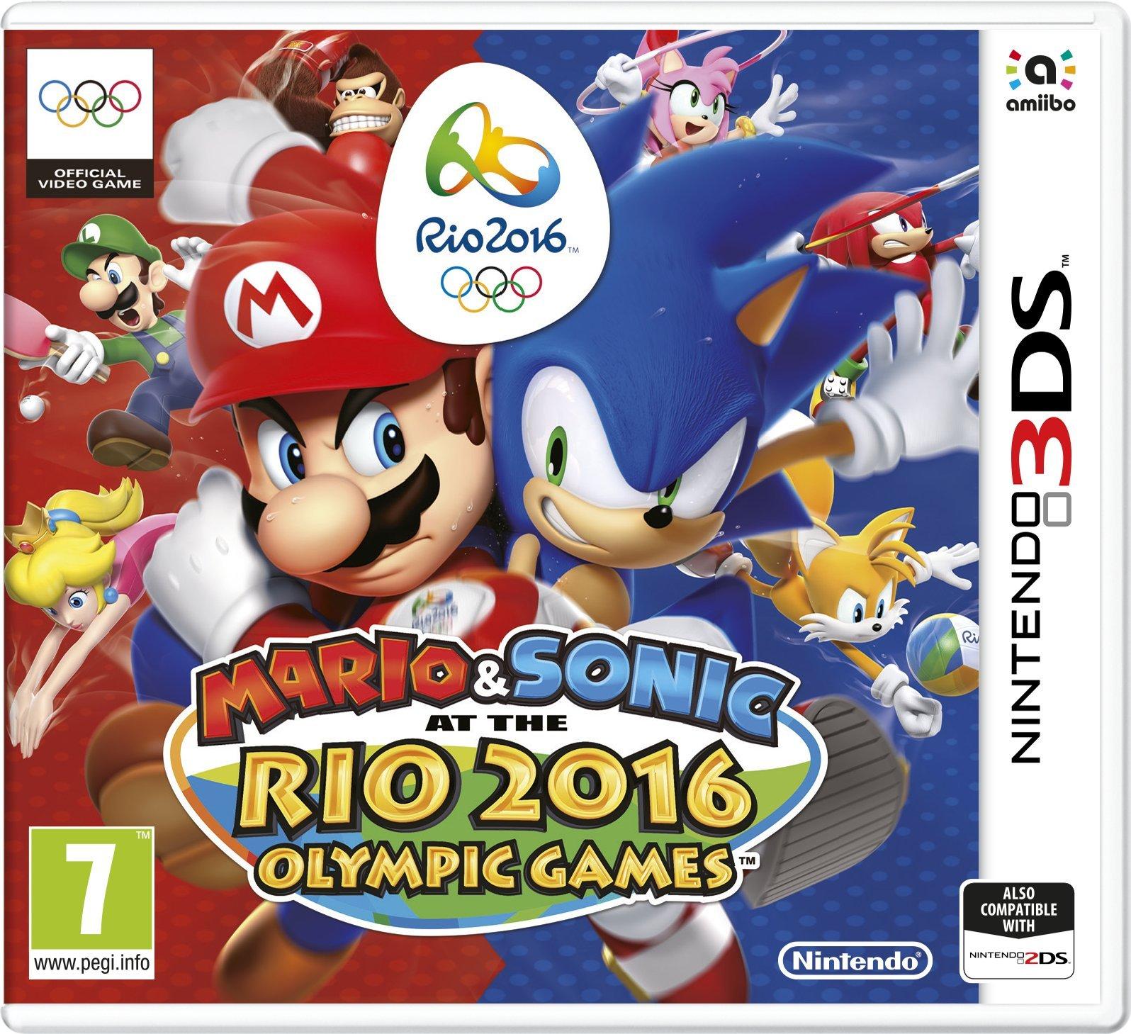 Mario And Sonic: Rio 2016 Olympic Games [Importación Inglesa]: Amazon.es: Videojuegos