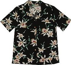 Star Orchid Women's Hawaiian Aloha Rayon Shirt