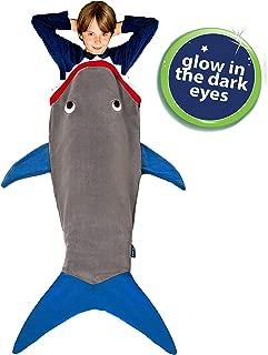 fleece shark tail blanket