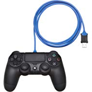 AmazonBasics PlayStation 4... AmazonBasics PlayStation 4 Controller Charging Cable - 6 Foot, Blue