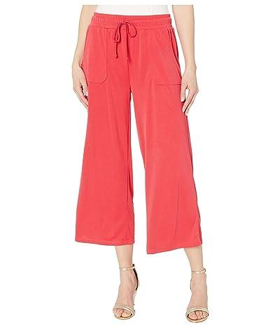 Fresh Produce Jetsetter Capri Pants in Stretchy Modal Rib (Vibrant Poppy) Women