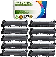 Tonerstocks 10 Pack New Compatible Brother TN630 TN660 Toner Cartridge Black for Brother HL-L2340DW HL-L2300D HL-L2380DW MFC-L2700DW L2740DW DCP-L2540DW L2520DW HL-L2320D MFC-L2720DW L2740DW Printer