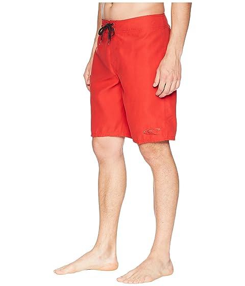 Rojo Santa O'Neill Boardshorts Cruz Solid dTdwI4