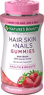 Nature's Bounty Optimal Solutions Hair, Skin, Nails, 140 Gummies