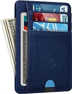 Slim Minimalist Front Pocket Wallet, Fintie RFID Blocking Credit Card Holder Card Cases with ID Window for Men Women (Hori...
