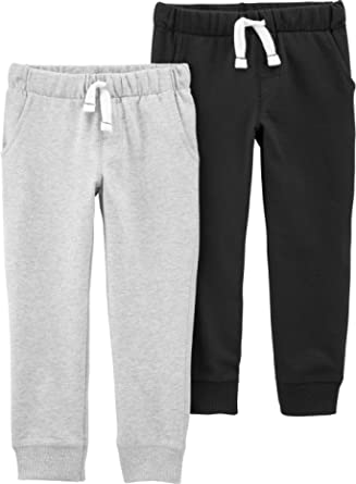 Carter's Toddler Boys 2 Pack French Terry Active Joggers/Pants