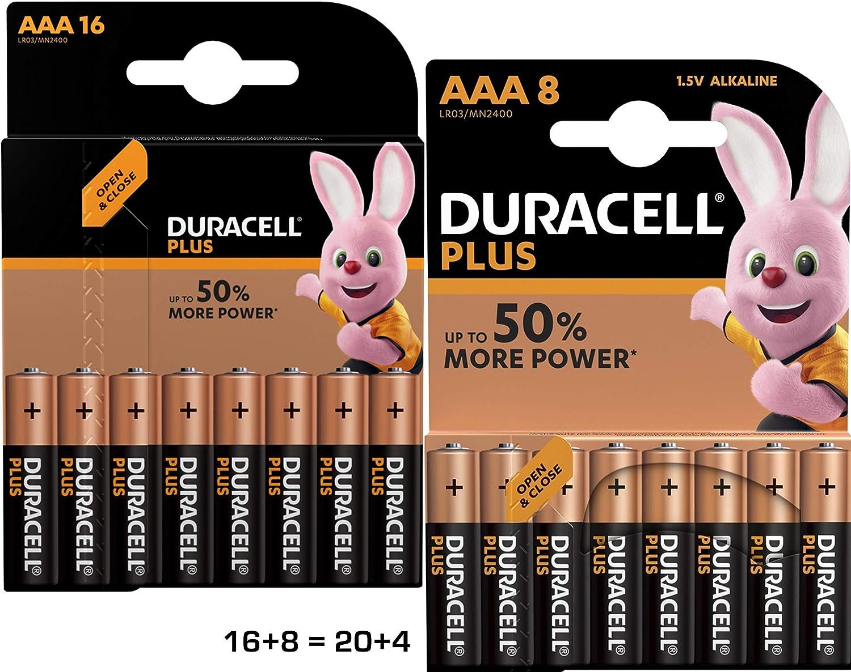 Duracell Dur019058 Plus Aaa Batterien Elektronik