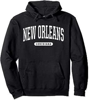 New Orleans Hoodie Sweatshirt College University Style LA US