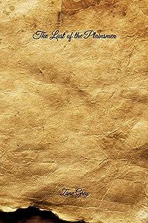 The Last of the Plainsmen: Handwritten Style
