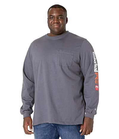 Timberland PRO Extended FR Cotton Core Long Sleeve Pocket T-Shirt with Sleeve Logo