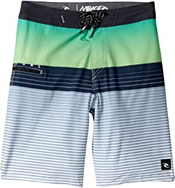 Rip Curl Kids - Mirage Edge Boardshorts (Big Kids)