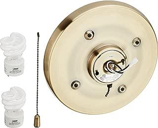 Casablanca 99252 CFL Low Profile Fitter, Antique Brass
