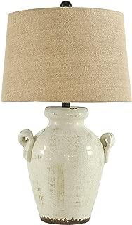 Signature Design by Ashley L100664 Emelda Table Lamp, Cream