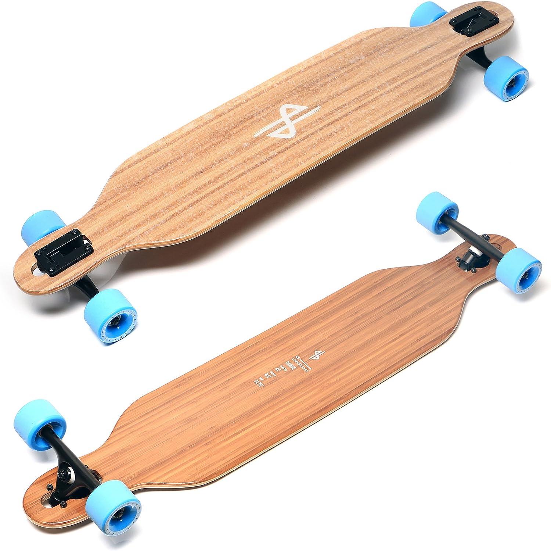 Carving Longboard, Longboard, Longboard, HB Boards Carve Flex 1 Professioneles Cruising Longboard Bambus 41  mit High-Speed Abec 9 Kugellagern B079RKRRC6  Ausgezeichnet 2f8a1d
