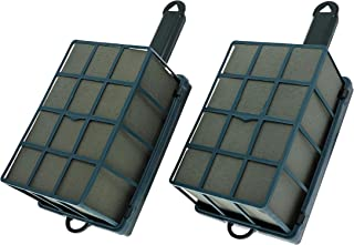 Bright Creations 2-Pack Floral Wet Foam Cage with Handles, 7 x 4.5 x 3 Inches