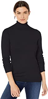 Women's Classic Fit Lightweight Long-Sleeve Turtleneck...