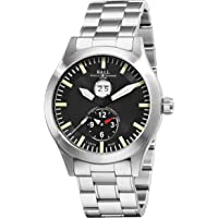 Ball Aviator Dual Time Automatic Black Dial Men's Watch