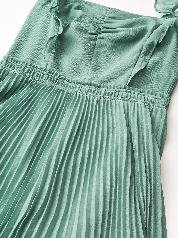 Club Monaco Women's Pleated Flounce Dress