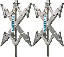 X-Chock Wheel Stabilizer - Pair - One Handle - 28012