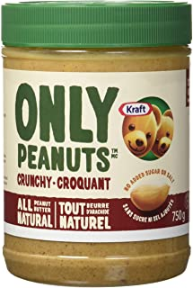 Kraft Peanut Butter (All Natural Crunchy Peanut butter, 750 G)