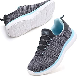 Slip On Sneakers for Women Lightweight Tennis Shoes...