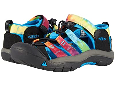 KEEN Kids Newport H2 (Little Kid/Big Kid) (Rainbow Tie-Dye) Kids Shoes