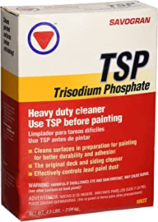 Savogran Trisodium Phosphate Heavy Duty Cleaner Use Before Painting 4.5lbs