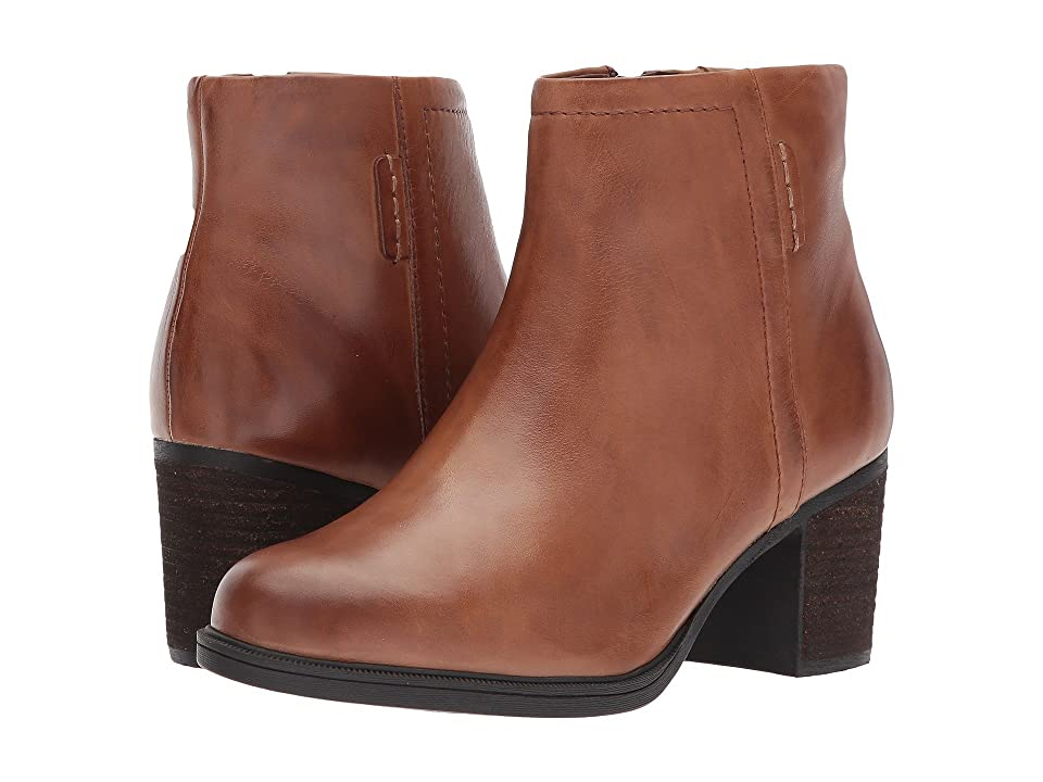 Rockport Cobb Hill Collection Cobb Hill Natashya Bootie (Almond Leather) Women