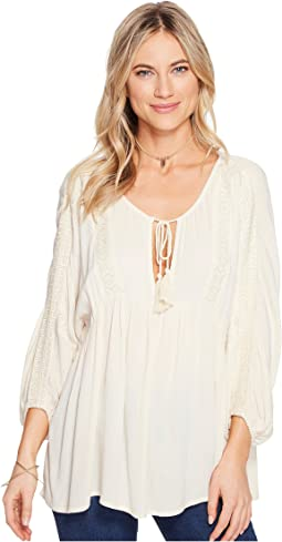 Gold Dust Woven Top
