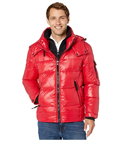 S13 Downhill Puffer Jacket (Red) Men