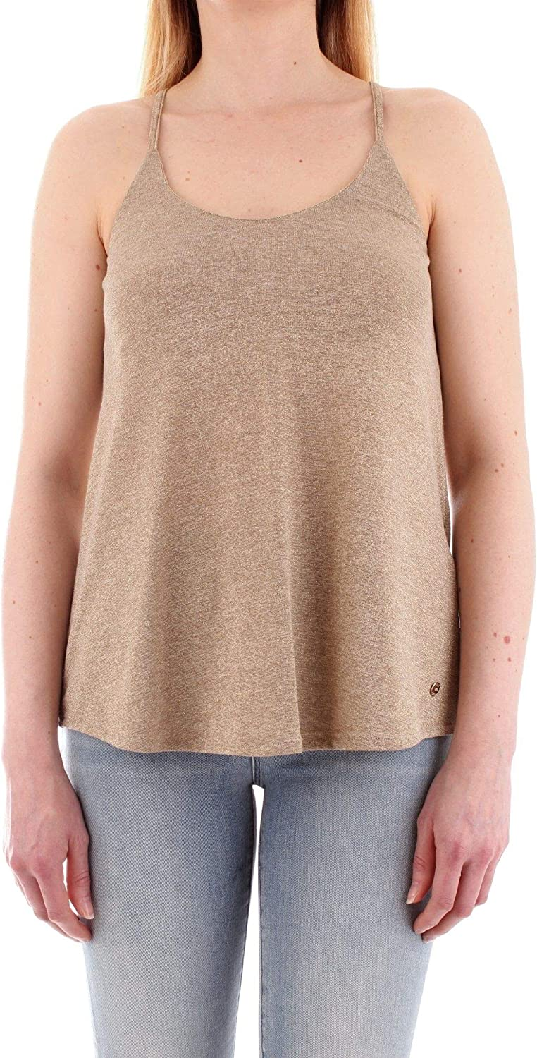 Fly Girl Women's 240404gold gold Polyester Top