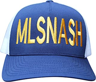 90812e49985cb Bandwagon Nash MLSNASH Curved Bill Trucker Hat- for Nashville Soccer Club