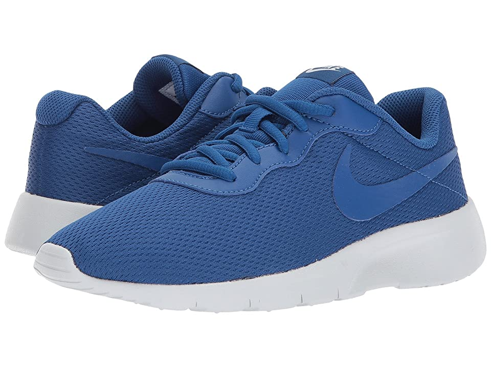 Nike Kids Tanjun (Big Kid) (Gym Blue/Gym Blue/Pure Platinum) Boys Shoes