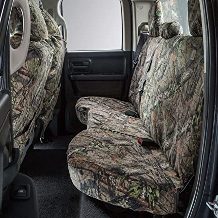 Covercraft Carhartt Mossy Oak Camo SeatSaver Front Row Custom Fit Seat Cover for Select Nissan Armada//Titan Models SSC3377CAMB Break-Up Country Duck Weave