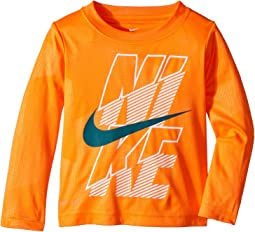 Block Dri-FIT Long Sleeve Tee (Toddler)