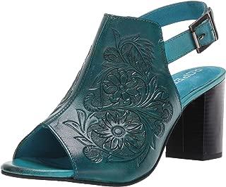 barnes heeled sandal