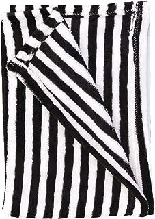 Baby Blanket (Black/White Stripes)