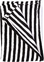 Baby Blanket (Black/White Stripes)