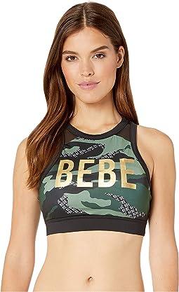 Bebe Logo Camo/Green Grove