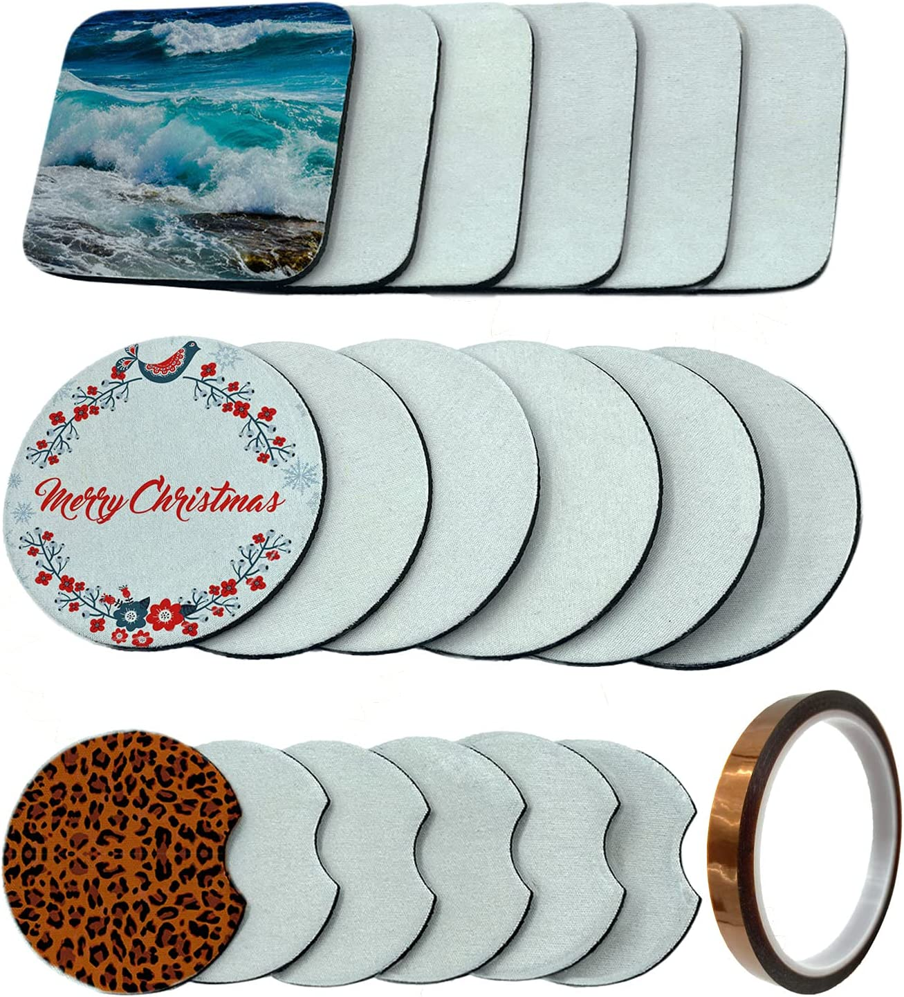 18+1 Sublimation Coasters Ranking TOP15 Sale item Products Blanks In