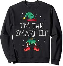 I'm The Smart Elf Matching Family Costume Clothing Christmas Sweatshirt