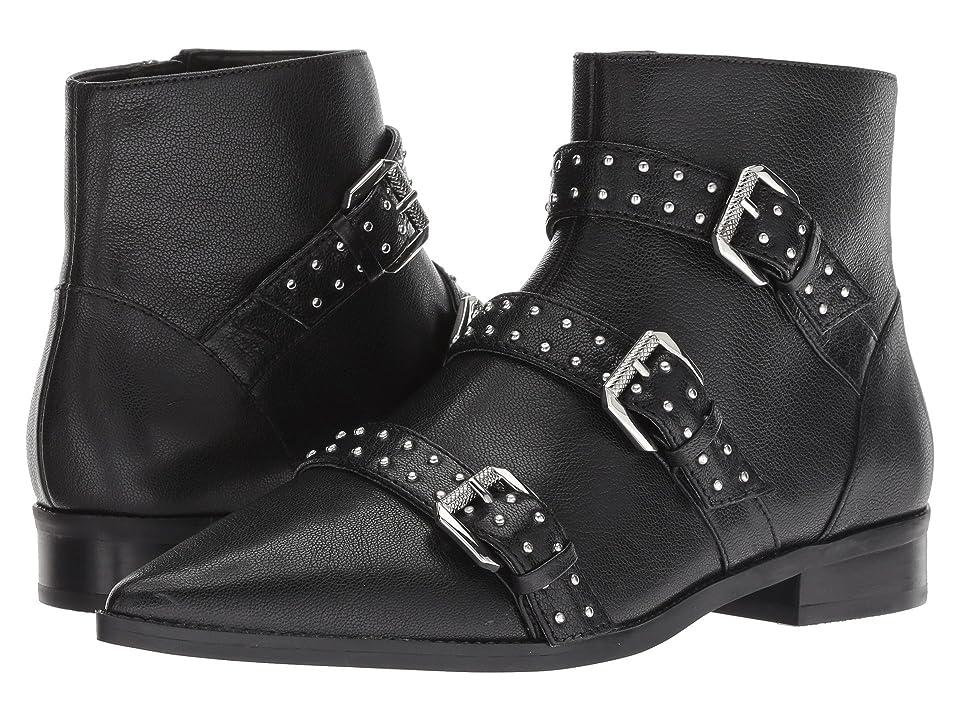 Nine West Seraphim (Black Leather) Women