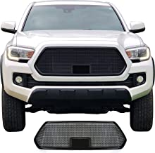 Grille for 2018 2019 Toyota Tacoma with TSS Sensor Bracket & Black Bezel by customcargrills