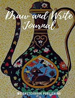 Draw and Write Journal: Creative Blank Writing Drawing Journal for Adults, Kids, Boys, Girls…, Improving and Practicing Writing, Drawing & Doodling ... Pages, Beautiful Oil Painting Cover)(V1)