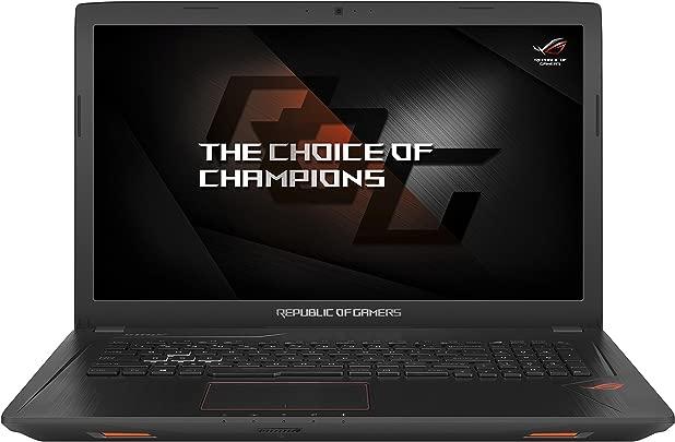 Asus ROG GL753VD-GC044T 43 9 cm 17 3 Zoll mattes FHD Gaming-Laptop Intel Core i7-7700HQ 8GB RAM 256GB SSD 1TB HDD NVIDIA GeForce GTX 1050 DVD-Laufwerk Win 10 Home schwarz Schätzpreis : 400,00 €