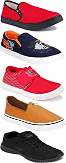 Shoefly Sports Running Shoes/Casual/Sneakers/Loafers Shoes for Men&Boys (Combo-(5)-1219-1221-1140-472-772)