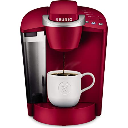 Keurig K-Classic Coffee Maker, Single Serve K-Cup Pod Coffee Brewer, 6 to 10 oz. Brew Sizes, Rhubarb