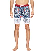 VISSLA - Vacancy Reef Four-Way Stretch Boardshorts 18.5