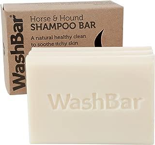 Natural Horse Shampoo Bar, Whitens, Brightens All Coloured Coats, Easier Than Liquid Shampoo with No Plastic Waste, Repair Problem Skin, 6.5oz