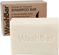Natural Horse Shampoo Bar, Whitens, Brightens All Coloured Coats, Easier Than Liquid Shampoo with No Plastic Waste, Repair Problem Skin, 6.5oz